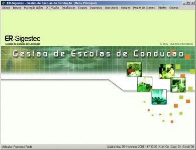 ER-Sigestec - Gestão de Escolas de Condução (Windows)