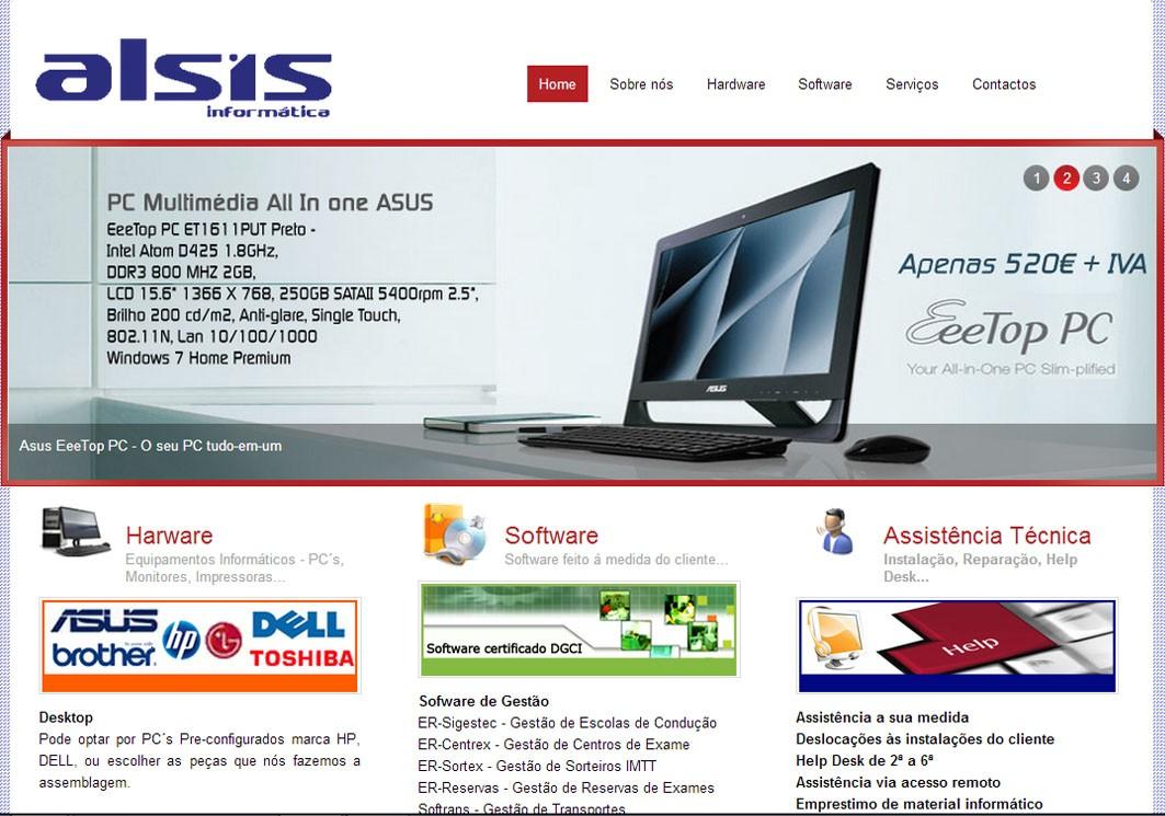 Páginas Internet - Personalizadas