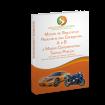 Livro com Módulo Comum de Segurança Rodoviária das Categorias A e B, e Módulo Complementar Teórico Prático
